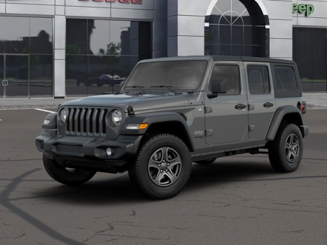 New 2020 JEEP Wrangler Unlimited Sport Mopar 2