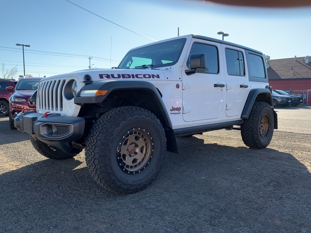 Certified Pre-Owned 2019 Jeep Wrangler Unlimited Rubicon 4WD, Custom Wheels, CERTIFIED