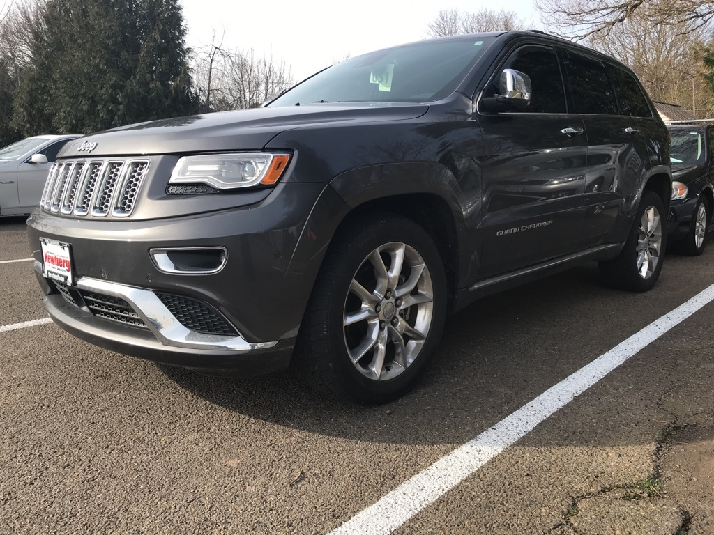 Pre-Owned 2014 Jeep Grand Cherokee Summit One Owner. Clean Carfax, Navigation, Panoramic Roo