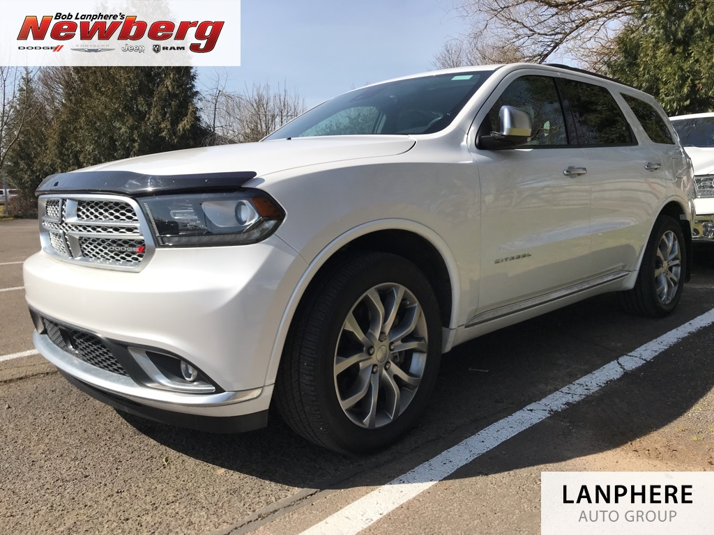 Pre-Owned 2017 Dodge Durango Citadel Platinum, One Owner, Clean Carfax, AWD!