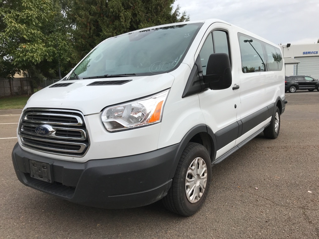 Pre-Owned 2017 Ford Transit-350 XLT 15-Passenger, 1-Owner, Clean Carfax