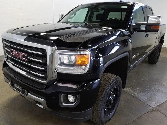 Pre-Owned 2015 GMC Sierra 2500HD SLT Duramax, Lifted w/ Wheels/Tires, Navigation