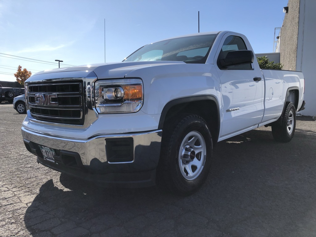 Pre-Owned 2015 GMC Sierra 1500 Base V8, Bluetooth, Tow Package