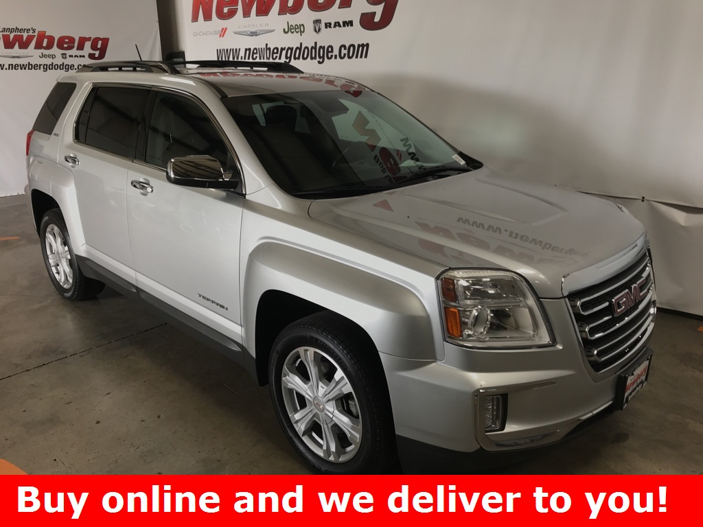 Pre-Owned 2016 GMC Terrain SLT AWD, Leather, Heated Seats, OnStar