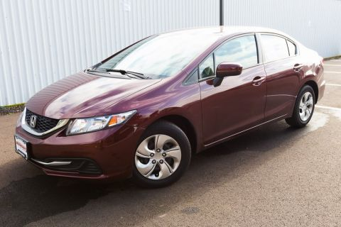 Pre-Owned 2015 Honda Civic LX Clean Carfax, Auto, Bluetooth, Back Up Camera!