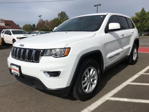 Pre-Owned 2018 Jeep Grand Cherokee Laredo 4WD, Certified, 1-Owner, Under 4k Miles