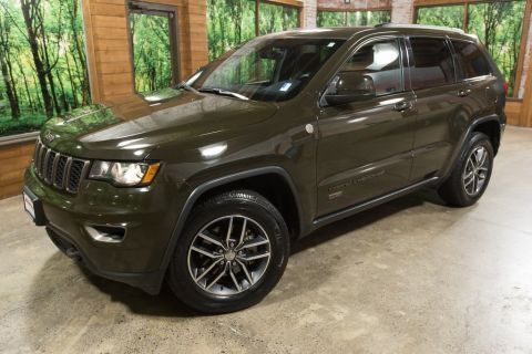 Pre-Owned 2017 Jeep Grand Cherokee Laredo 75th Anniversary Edition, Clean Carfax, One Owner!