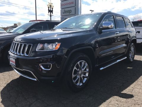Certified Pre-Owned 2015 Jeep Grand Cherokee Limited Clean Carfax, Tow Package, UConnect, Certified!