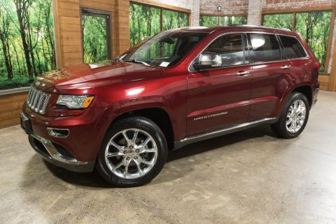 Pre-Owned 2016 Jeep Grand Cherokee Summit Loaded, One Owner, Navigation, Leather!
