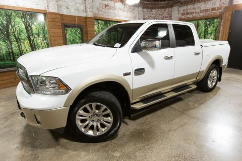 Pre-Owned 2013 Ram 1500 Laramie Longhorn Leather, Moonroof, Navigation