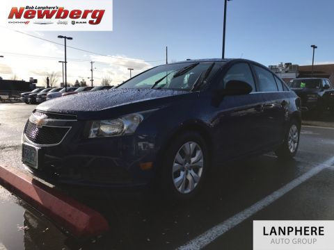 Pre-Owned 2012 Chevrolet Cruze LS Clean Carfax, A/C, Cruise!