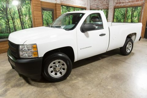 Pre-Owned 2013 Chevrolet Silverado 1500 Work Truck One Owner, Clean Carfax, Low Miles!