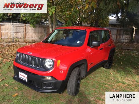 Certified Pre-Owned 2018 Jeep Renegade Sport Clean Carfax, Back Up Camera, 4WD, Certified!